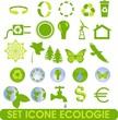 set icône écologie