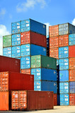 Containers au port