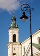 Lights frame Warsaw
