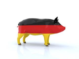maiale germania