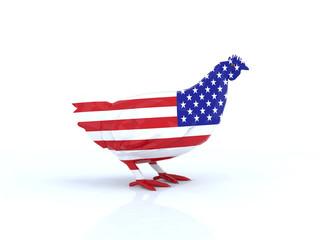 gallina americana