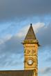 Church tower in Preston, UK