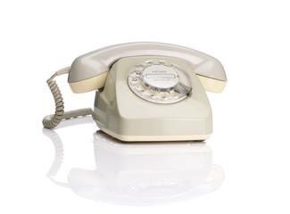 altes telefon schräg