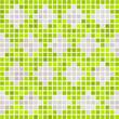 Textur Mosaik Muster grün