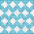 Textur Mosaik Karo blau
