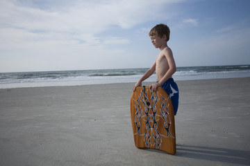 Young Boy at the Beach