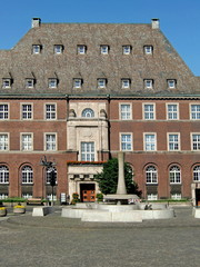 Rathaus-Komplex in Bottrop / Ruhrgebiet