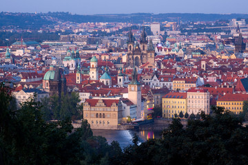 Häuser Prags