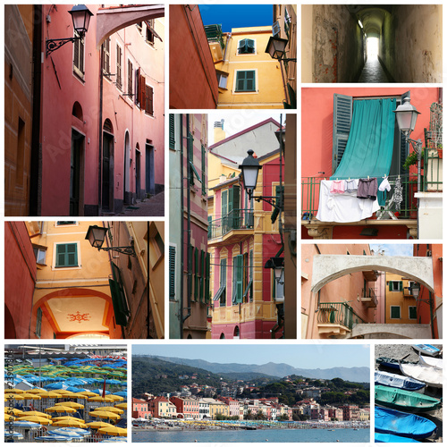 liguria tipica collage