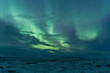 Northern lights after a storm