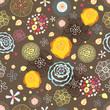 Summer flower pattern