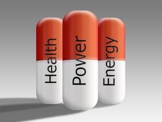 Power Energy Health Pills