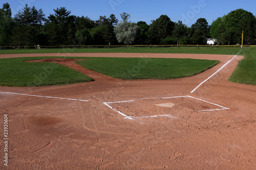Open Ball Field