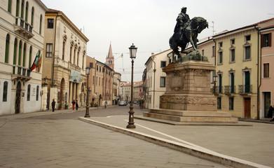 Piazza Giuseppe Garibaldi in Rovigo - Polesine Veneto