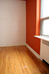 Orange Room and Window