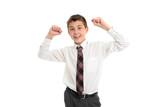 School student accomplishment, success poster