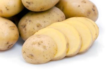 Pomme de terre tranchée