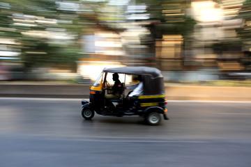 Speeding Rickshaw