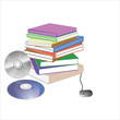 books with mouse and cds