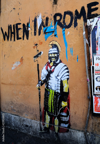Graffiti gladiator