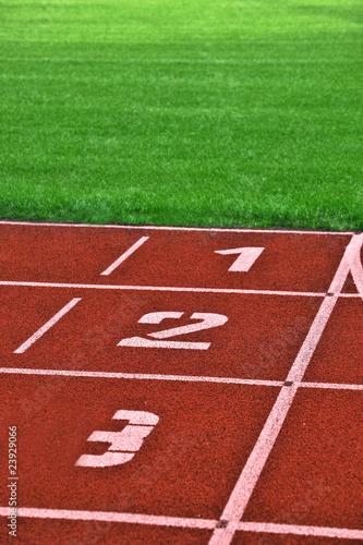 Leinwanddruck Bild to sprint