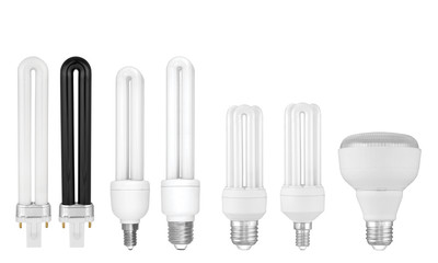 Энергосберегающая лампа. Energy saving lamp. ESL