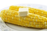 hot corn with butter