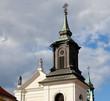 Church spire Warsaw