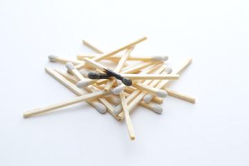 White tip matches