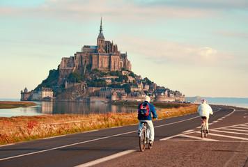Abbey Mont Saint-Michel, Normandy, France