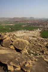 Hampi from Anjenadri hill
