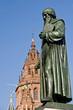 Leinwanddruck Bild - Gutenberg-Denkmal