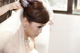 Bride hairdo poster