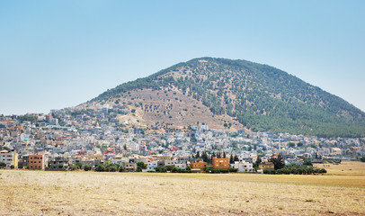 Biblical place of Israel: mount Tabor