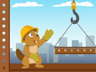 Beaver mounter build metal construction