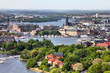 Stockholm - aerial view