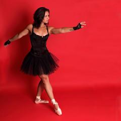 Ballet rebel - Dancer in black