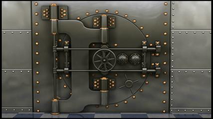 Bank Vault Opening
