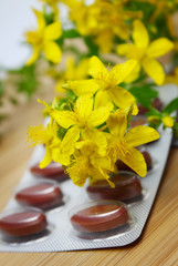 pills with St. John's wort