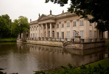 Royal Palace in Lazienki Park