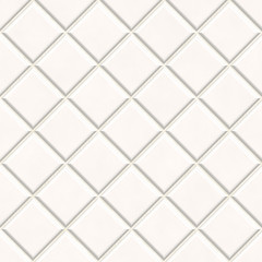 Seamless white tiles texture background, kitchen or bathroom con