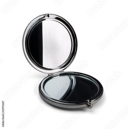 Leinwandbild Motiv Pocket make-up mini mirror