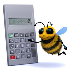 3d Bee makes a calculation