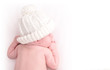 Little Newborn Baby Sleeping with Hat