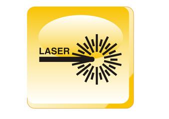 Warnung - Laserstrahlung