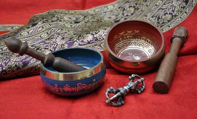 Campane tibetane - Singing bowls