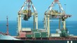 Loading of cargoes in port against the sea