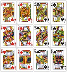 playing cards 62x90 mm