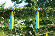 Swedish maypole
