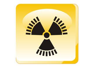 Warnung - Radioaktive Strahlung